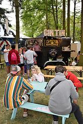 Latitude Festival, Henham Park, Suffolk, UK July 2019. Gin bar