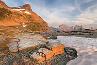 Boulder Peak Glacier National Park Montana