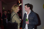 """Welsh actor Mathew Rhys. Movie called """" Tabloid TV """" charity party in aid of  The Rainforest Foundation. Brick lane. London  25 January 2001. © Copyright Photograph by Dafydd Jones 66 Stockwell Park Rd. London SW9 0DA Tel 020 7733 0108 www.dafjones.com"""