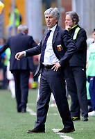 L'allenatore del Genoa Gian Piero Gasperini<br /> Genova 25/04/2010 Stadio Luigi Ferraris di Marassi<br /> Genoa Lazio - Campionato di Serie A Tim 2009-10.<br /> Foto Giorgio Perottino / Insidefoto