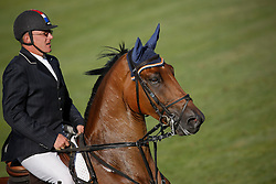 Zoer Albert (NED) - Sam<br /> Finning Welcome<br /> Spruce Meadows Masters - Calgary 2009<br /> © Dirk Caremans