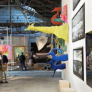 VENICE, ITALY - JUNE 02:  A general view inside the Italian Pavillion on June 2, 2011 in Venice, Italy. This year's Biennale is the 54th edition and will run from June 4th until 27 November.
