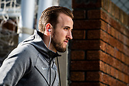 (10) Harry Kane of Tottenham Hotspur  arrived for the Premier League match between Crystal Palace and Tottenham Hotspur at Selhurst Park, London, England on 25 February 2018. Picture by Sebastian Frej.