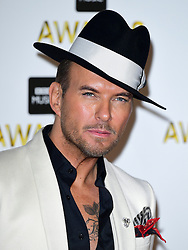 Matt Goss attending the BBC Music Awards at the Royal Victoria Dock, London. PRESS ASSOCIATION Photo. Picture date: Monday 12th December, 2016. See PA Story SHOWBIZ Music. Photo credit should read: Ian West/PA Wire
