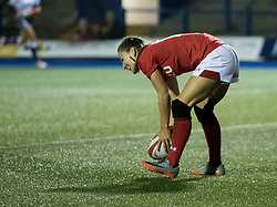 Lisa Neumann of Wales Women scores her sides third try<br /> <br /> Photographer Simon King/Replay Images<br /> <br /> Friendly - Wales Women v Hong Kong Women - Friday  16th November 2018 - Cardiff Arms Park - Cardiff<br /> <br /> World Copyright © Replay Images . All rights reserved. info@replayimages.co.uk - http://replayimages.co.uk