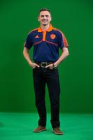 DEN BOSCH - fysio Jaco de Wolf .  . Nederlands Hockeyteam  voor nieuwe platform Hockey.nl.    FOTO KOEN SUYK