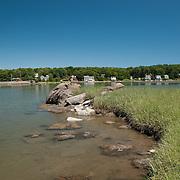 Goose Pond in Gloucester, Massachusetts.
