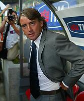 Milano 27/7/2004 Trofeo Tim - Tim tournament <br /> <br /> Roberto Mancini allenatore dell'inter<br /> <br /> Roberto Mancini Inter Trainer<br /> <br /> <br /> <br /> Inter Milan Juventus <br /> <br /> Inter - Juventus 1-0<br /> <br /> Milan - Juventus 2-0<br /> <br /> Inter - Milan 5-4 d.cr - penalt.<br /> <br /> <br /> <br /> Photo Andrea Staccioli Graffiti