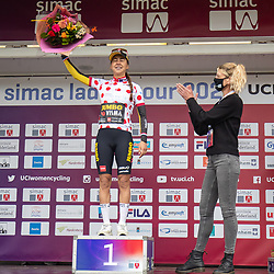 ARNHEM (NED) CYCLING, SIMAC LADIES TOUR,   August 29th 2021, <br /> Queen of the mountains Anouska Koster