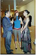 Veronica Webb. Azzadine Alaia installation. 575 Broadway. NY. 22 September 2000. © Copyright Photograph by Dafydd Jones 66 Stockwell Park Rd. London SW9 0DA Tel 020 7733 0108 www.dafjones.com