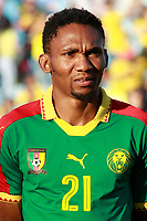 Cameroon's Lucien Owona during international friendly match. June 13,2017.(ALTERPHOTOS/Acero)