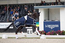 Wienkamp Ann-Christin, GER, Don Martillo<br /> Longines FEI/WBFSH World Breeding Dressage Championships for Young Horses - Ermelo 2017<br /> © Hippo Foto - Dirk Caremans<br /> 04/08/2017