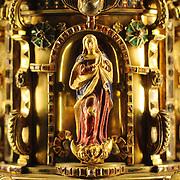Golden chalice detail, Cordoba, Spain (January 2007)