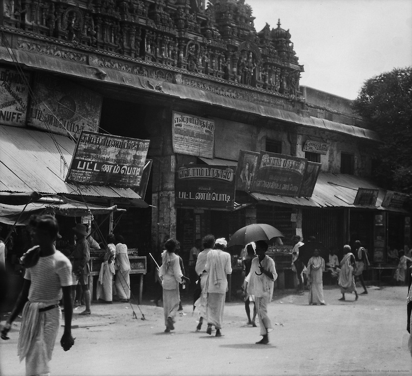 Sri Meenakshi Temple, Madurai, India, 1929