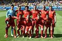 Belgio Formazione. Team Lineups <br /> Belo Horizonte (Brasile) 17-06-2014 Estadio Mineirao. Group H Belgium - Algeria / Belgio - Algeria Football 2014 Fifa World Cup Brazil - Campionato del Mondo di Calcio  Brasile 2014 <br /> Foto Insidefoto