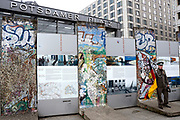 Berlin  is the capital of Germany, and one of the 16 states of Germany. It is the second most populous city proper and the seventh most populous urban area in the European Union. <br /> <br /> On the photo:  Potsdamer Platz  is an important public square and traffic intersection in the centre of Berlin with the Sony Center , Bahn Tower and part of the wall