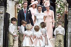 Pippa Middleton & James Matthews Wedding - 20 May 2017