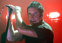 NIne Inch Nails performs at the Sommet Center in Nashville, Tennessee on Friday, October 31, 2008. (Photo by Frederick Breedon) Photo © Frederick Breedon. All rights reserved. Unauthorized duplication prohibited.