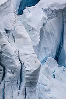 Stunning icy landscape of Antarctica.