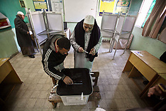 DEC 22 2012 Egypt Polling Station