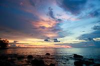 sunset-Koh Rong Samloen Island-Cambodia