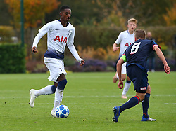 November 6, 2018 - London, England, United Kingdom - Enfield, UK. 06 November, 2018.Maghoma Edmond-Paris of Tottenham Hotspur.during UEFA Youth League match between Tottenham Hotspur and PSV Eindhoven at Hotspur Way, Enfield. (Credit Image: © Action Foto Sport/NurPhoto via ZUMA Press)