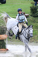 Vendredi Biats ridden by Kitty King in the Equi-Trek CCI-L4* Cross Country during the Bramham International Horse Trials 2019 at Bramham Park, Bramham, United Kingdom on 8 June 2019.