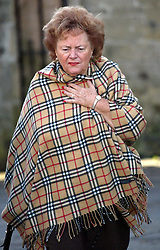 © Licensed to London News Pictures. Cynthia Payne pictured in Wells in Somerset in 2004. Brothel madam Cynthia Payne whose life was immortalised in film in Personal Services with Julie Walters, has died at the age of 82. Photo credit : Jason Bryant/LNP