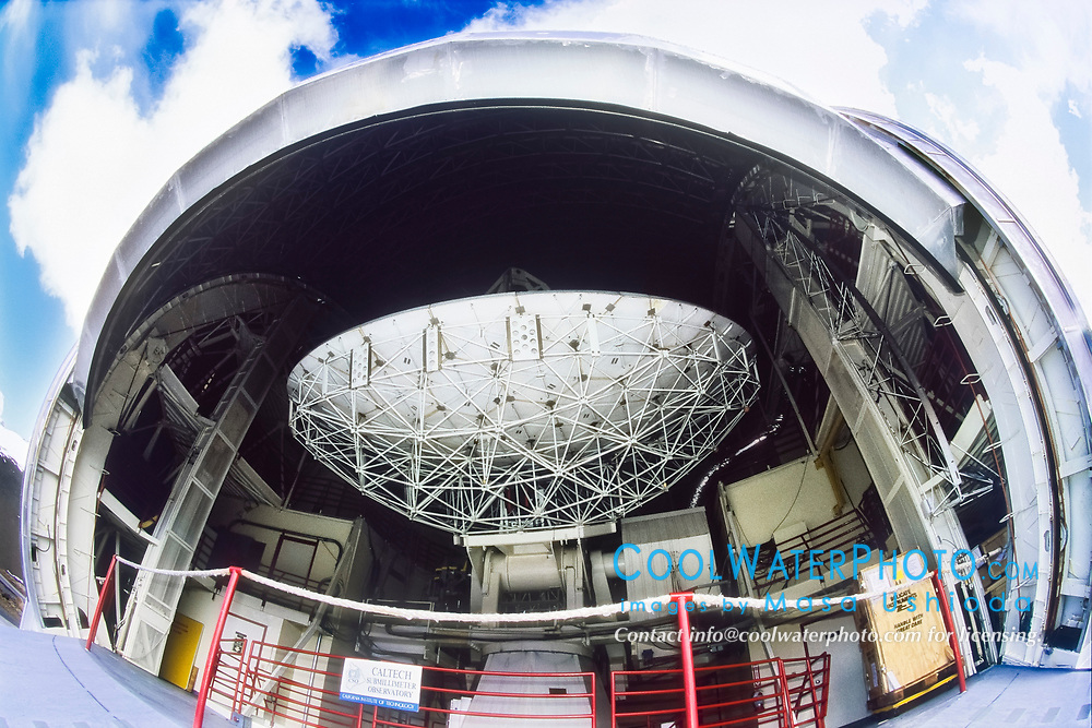 California Institute of Technology - CalTech Submillimeter Observatory ( CSO ), Mauna Kea Observatories, Mauna Kea summit, Big Island, Hawaii, USA