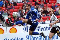 Fotball treningskamp RBK - Haugesund 1-1<br /> Patrik Fredholm og Mikael Dorsin<br /> Foto: Carl-Erik Eriksson. Digitalsport