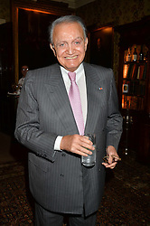 WAFIC SAID at a party to celebrate the publication of Right or Wrong: The Memoirs of Lord Bell held at Mark's Club, Charles Street, London on 16th October 2014.