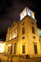 Historic cathedral in central Macau
