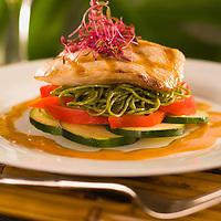 Grilled Fresh Mahi Mahi, Chef Chai Chaowasaree for HVCB.