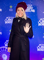 Holly Willoughby at the  Hyde Park Winter Wonderland launch, London, UK - 20 Nov 2019