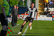 Paul McGinn of St Mirren during the Ladbrokes Scottish Premiership match between St Mirren and Hamilton Academical FC at the Paisley 2021 Stadium, St Mirren, Scotland on 13 May 2019.