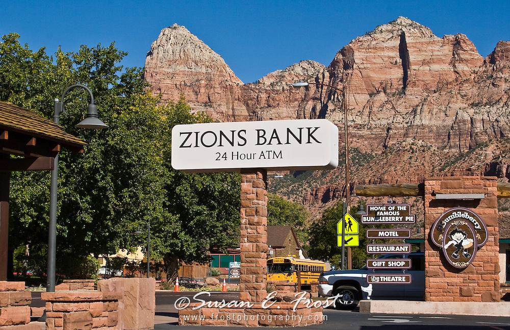 Zions Bank, Zion National Park