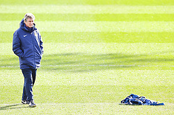 Manchester City Manager Manuel Pellegrini during the training session at The Etihad Campus ahead of the UEFA Champions League clash with FC Barcelona - Photo mandatory by-line: Matt McNulty/JMP - Mobile: 07966 386802 - 23/02/2015 - SPORT - Football - Manchester - Etihad Stadium
