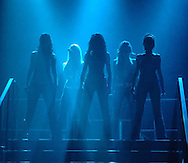 Girls Aloud perform at the Blackpool Opera House.<br /> <br /> www.expresspictures.com<br /> Express Syndication<br /> +44 870 211 7661/2764/7903/7884/7906<br /> Code: 318043