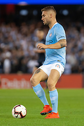 February 23, 2019 - Melbourne, VIC, U.S. - MELBOURNE, VIC - FEBRUARY 23: Melbourne City defender Bart Schenkeveld (5) controls the ball at round 20 of the Hyundai A-League Soccer between Melbourne City FC and Melbourne Victory on February 23, 2019 at Marvel Stadium, VIC. (Photo by Speed Media/Icon Sportswire) (Credit Image: © Speed Media/Icon SMI via ZUMA Press)