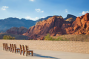 Viewing Area at Red Rock Canyon Las Vegas Nevada