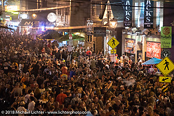 Brady Street Experience, where Brady was closed to 4-wheelers and a street party raged late into the night during Harley-Davidson 115th Anniversary Celebration event. Milwaukee, WI. USA. Saturday September 1, 2018. Photography ©2018 Michael Lichter.