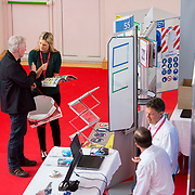 13.06.2018.            <br /> Up to 1,000 delegates visited Ireland's largest manufacturing supply chain conference and trade exhibition - Manufacturing Solutions Ireland 2018 - at Limerick Institute of Technology (LIT) in the course of today (Wednesday, June 13). <br /> <br /> In its second year, the conference and engineering trade show, hosted by the UK tool technologies trade association - the GTMA in conjunction with LIT, exceeded last year's attendance thereby helping to generate in excess of a quarter of a million euro for the local economy. The Manufacturing Solutions event was supported by the Syndicat du Décolletage Congress also held in Limerick. Picture: Alan Place