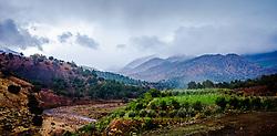 Rain clouds over the Atlas Mountains approaching the Tichka Pass<br /> <br /> (c) Andrew Wilson | Edinburgh Elite media