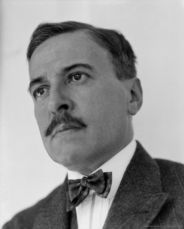 Hugo von Hofmannsthal, Austrian Author and Poet, 1923