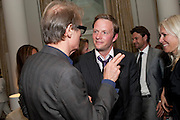 BILL NIGHY; RUPERT PENRY-JONES, Langham Hotel party after a major renovation. Portland Place, London. 10 June 2009