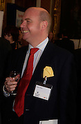 Justin Fisher, Political Studies Association Awards 2004. Institute of Directors, Pall Mall. London SW1. 30 November 2004.  ONE TIME USE ONLY - DO NOT ARCHIVE  © Copyright Photograph by Dafydd Jones 66 Stockwell Park Rd. London SW9 0DA Tel 020 7733 0108 www.dafjones.com