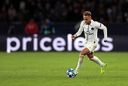 Paris Saint-Germain's Neymar during the UEFA Champions League, Group C match at the Parc des Princes, Paris.