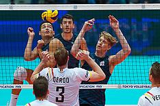 20190809 NED: FIVB Tokyo Volleyball Qualification 2019 / Belgium - USA, Rotterdam