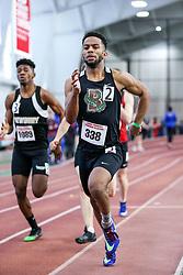 mens 400 meters, Brown, Ingram<br /> BU John Terrier Classic <br /> Indoor Track & Field Meet <br /> day 2
