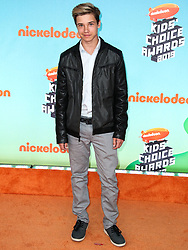 LOS ANGELES, CA, USA - MARCH 23: Nickelodeon's 2019 Kids' Choice Awards held at the USC Galen Center on March 23, 2019 in Los Angeles, California, United States. 23 Mar 2019 Pictured: Luca Alexander. Photo credit: Xavier Collin/Image Press Agency / MEGA TheMegaAgency.com +1 888 505 6342